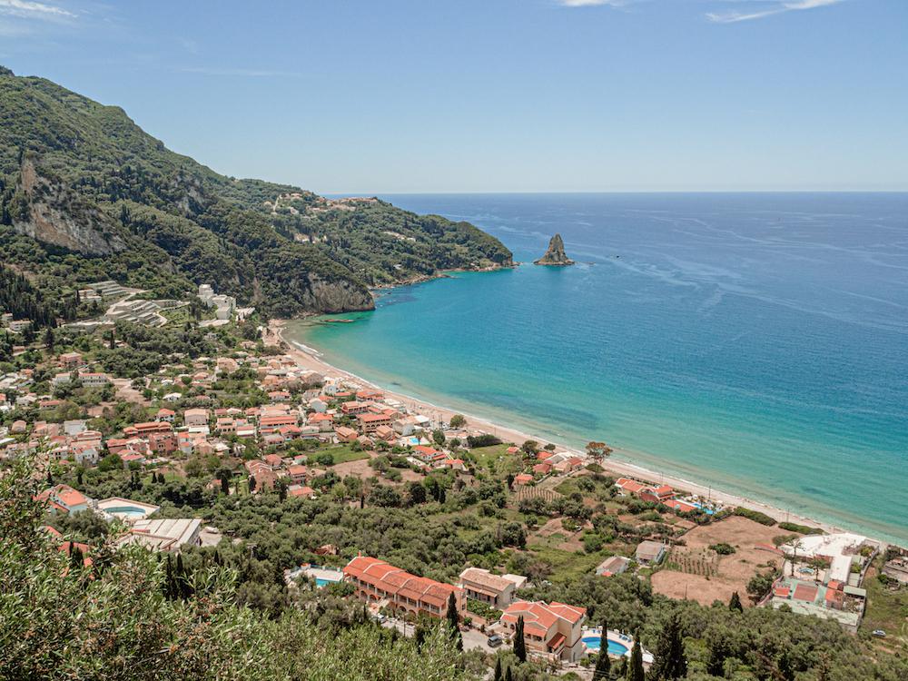Agios Gordios Corfu bezienswaardigheden