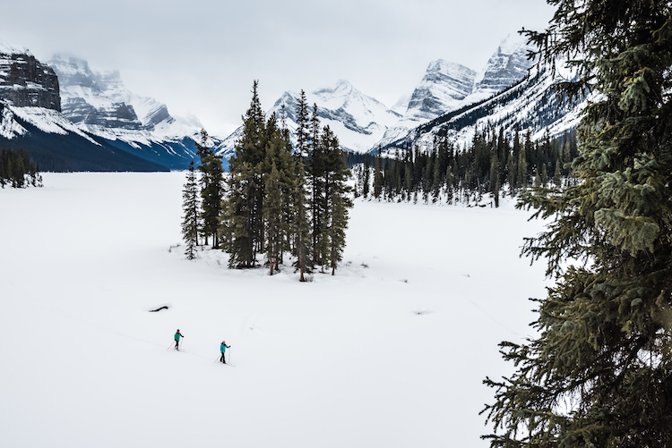 Cross CountrySkiing SpiritIsland canada