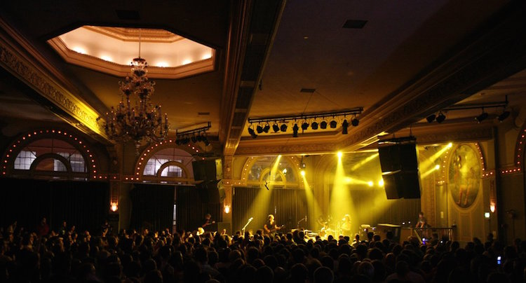 Crystal Ballroom live music portland
