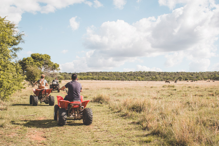 Cullinan zuid afrika quadbiking