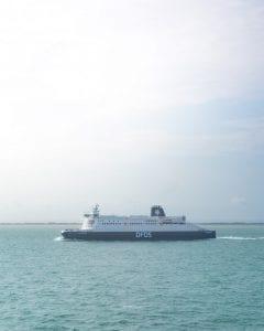DFDS-schip-engeland