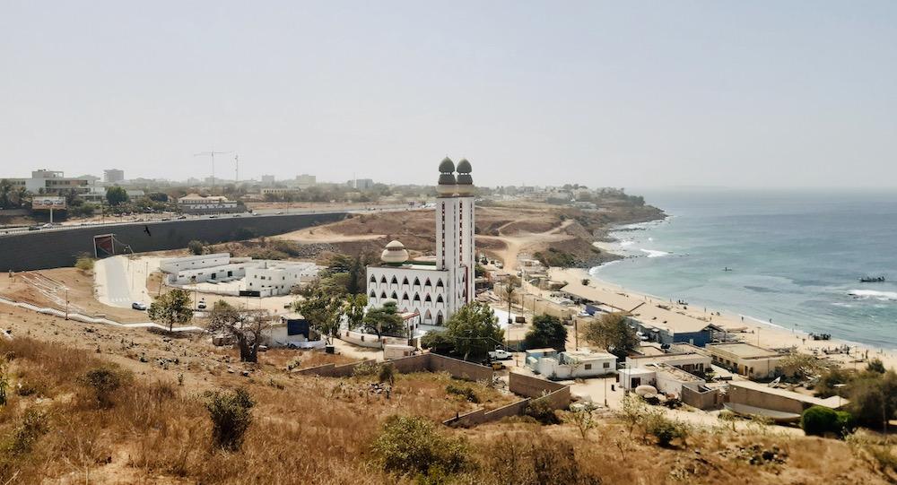 Dakar moskee uitzicht senegal