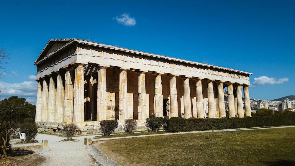 De Agora citytrip Athene