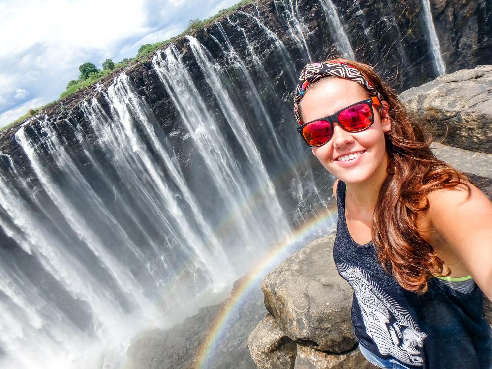 Devils Pool Victoria Watervallen Zambia