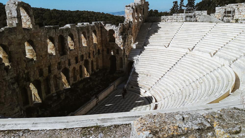 Dionysustheater en Odeon van Herodes Atticus