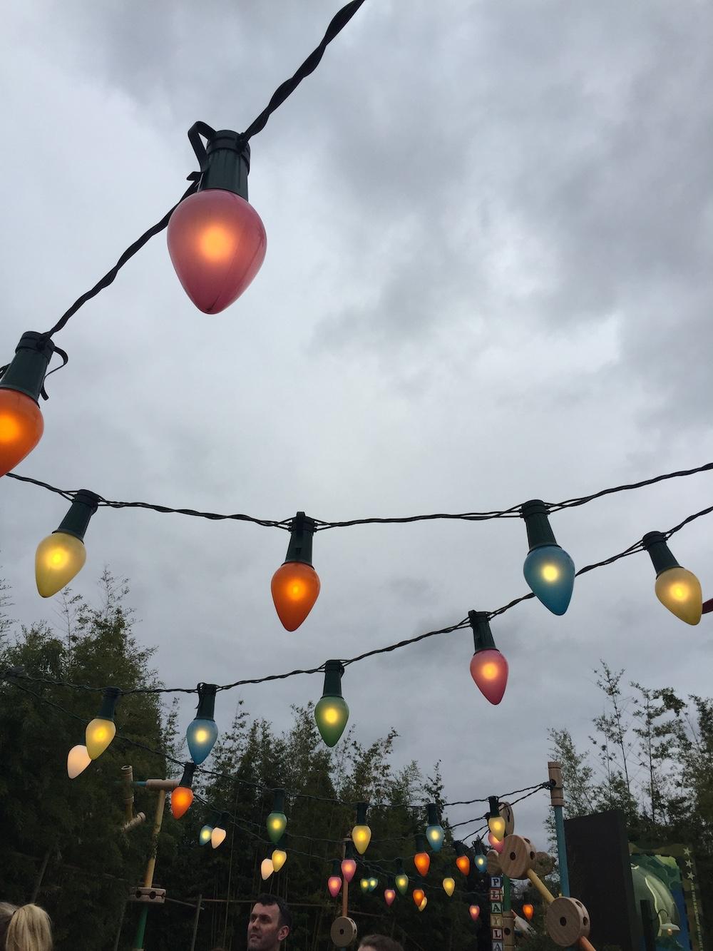 Disneyland parijs attracties lichtjes
