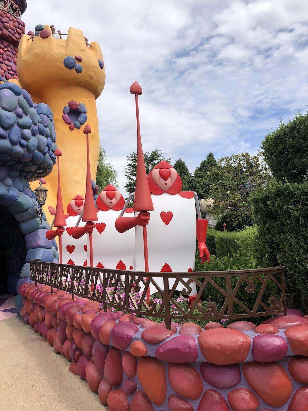 Disneyland parijs attracties kasteel binnen