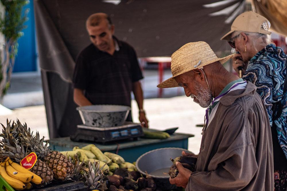 Djerba Tunesie Erriadh Markt