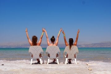 Dode Zee drijven israel