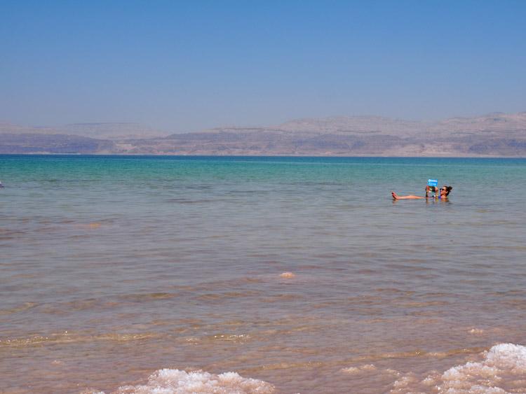 Dode Zee israel drijven zoutgehalte