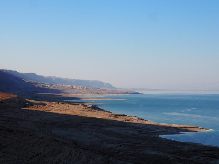 Dode Zee israel zonsondergang
