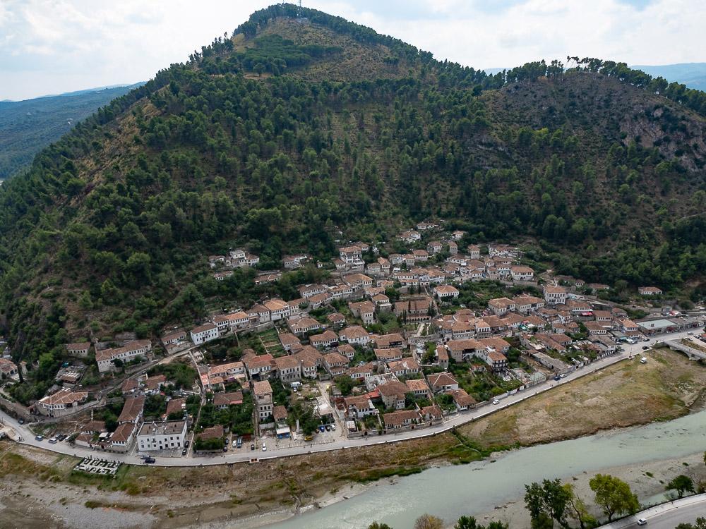 Doen in Berat uitzicht vanaf het kasteel