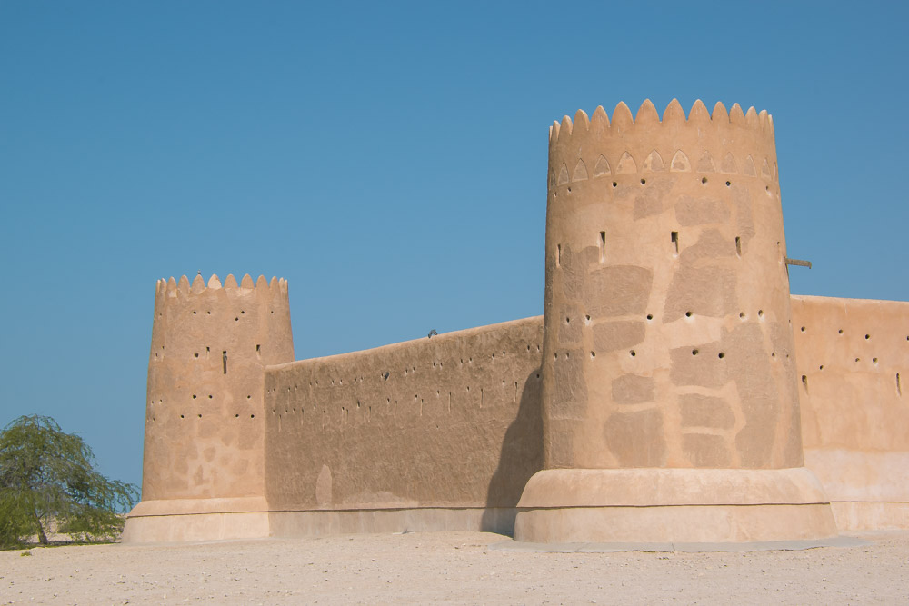 Doha Qatar Al Zubara Fort-2