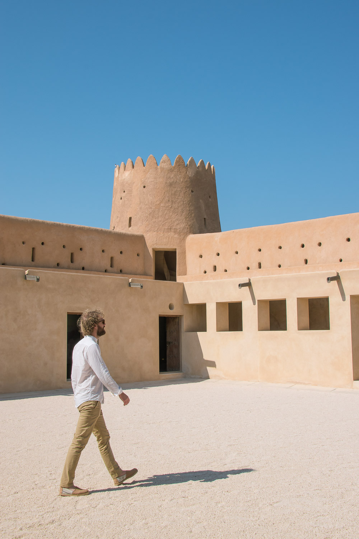 Doha Qatar Al Zubara Fort-3