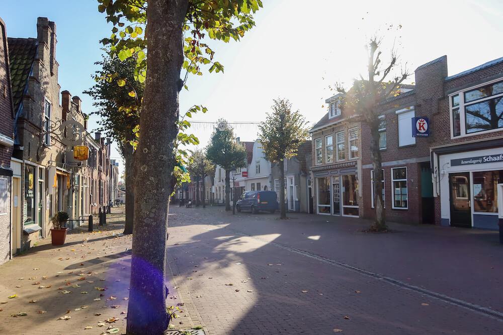 Dorp Terschelling - West eilandhoppen nederland
