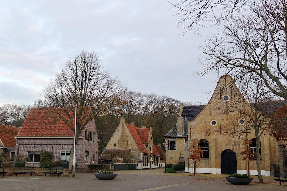 Dorp Vlieland eilandhoppen in nederland