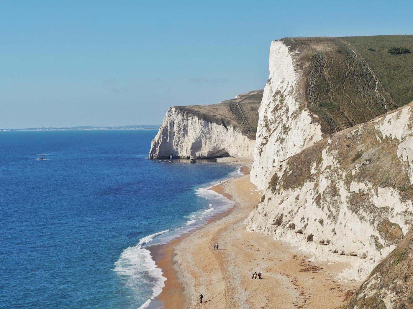 Dorset kliffen