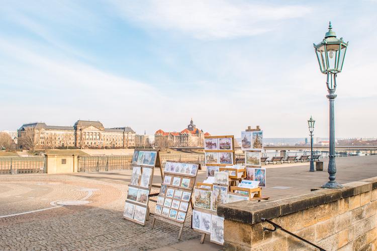 bezienswaardigheden Dresden Brühlsche Terras