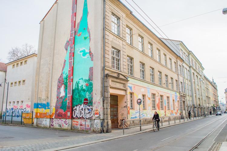 Dresden Neustadt StreetArt