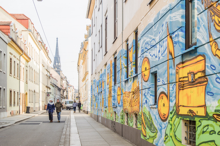 Dresden bezienswaardigheden Neustadt StreetArt