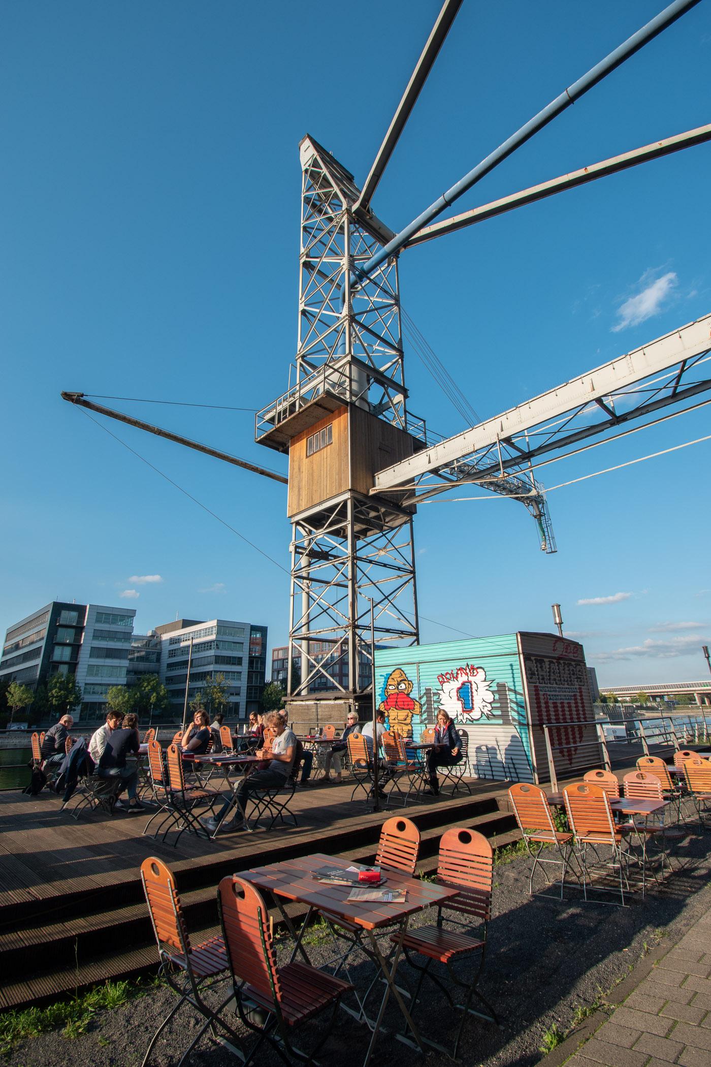 Duisburg Innenhafen bolero