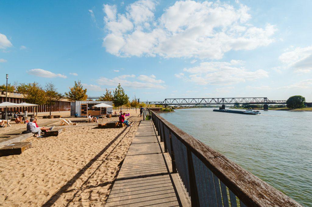 Duisburg weekend Rheinpark Ziegenpeter