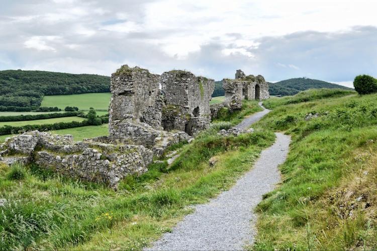 Dunamase ruines kastelen ierland paadje
