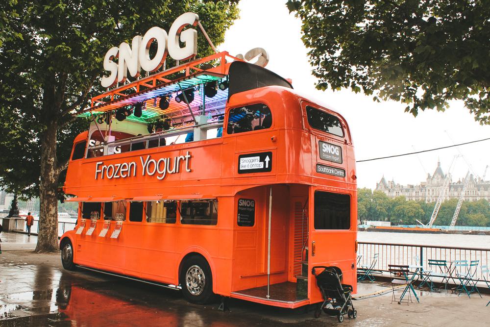 Duurzaam reizen tips Londen bus