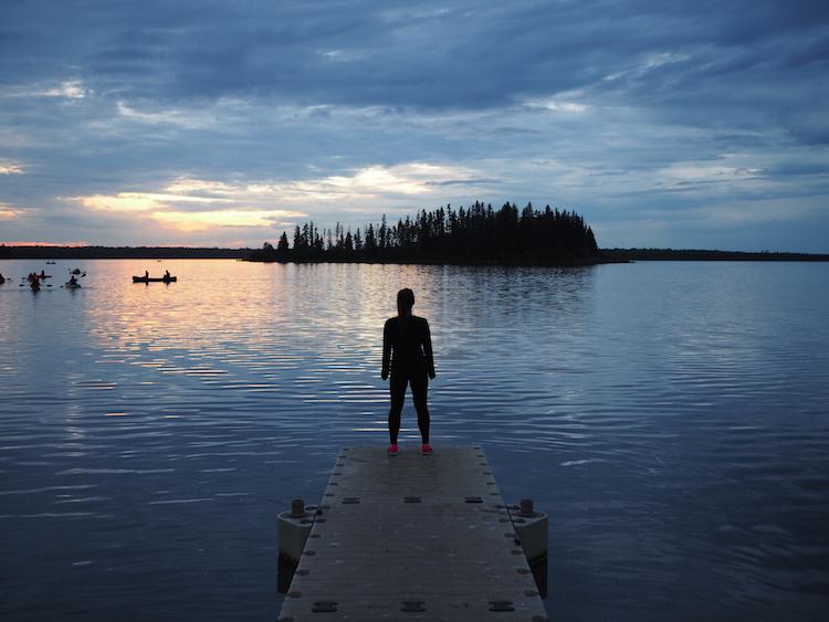 Edmonton elk island national park
