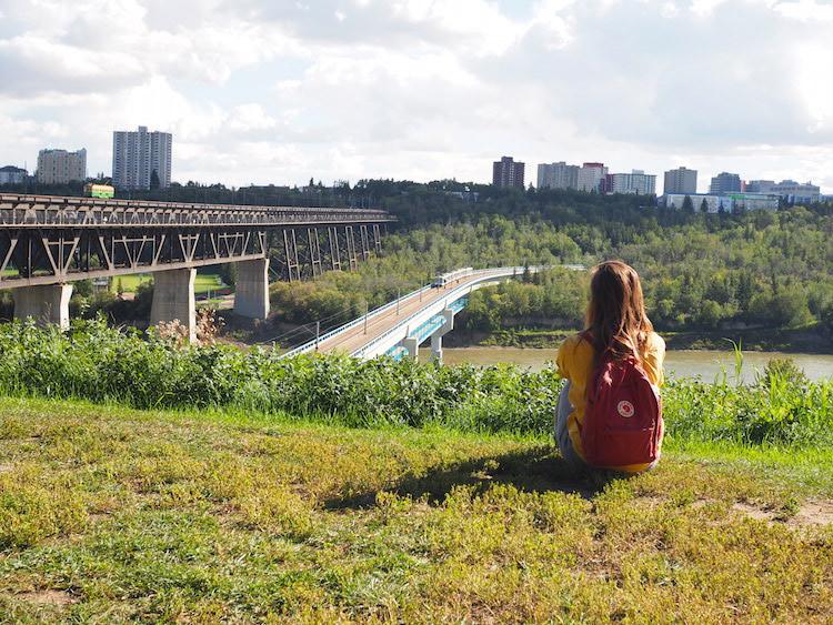 Edmonton uitzicht