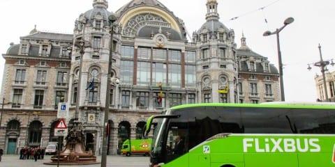FlixBus Centraal Station antwerpen