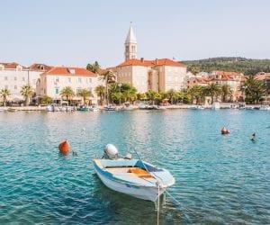 Eilandhoppen Kroatie Brac Supetar