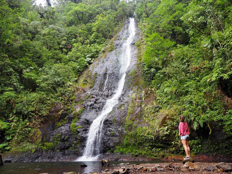 El Silencio lodge spa in Costa Rica watervallen-4