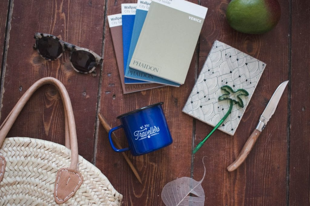 backpack beker blauw