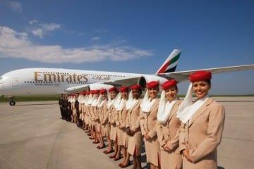 emirates stewardessen