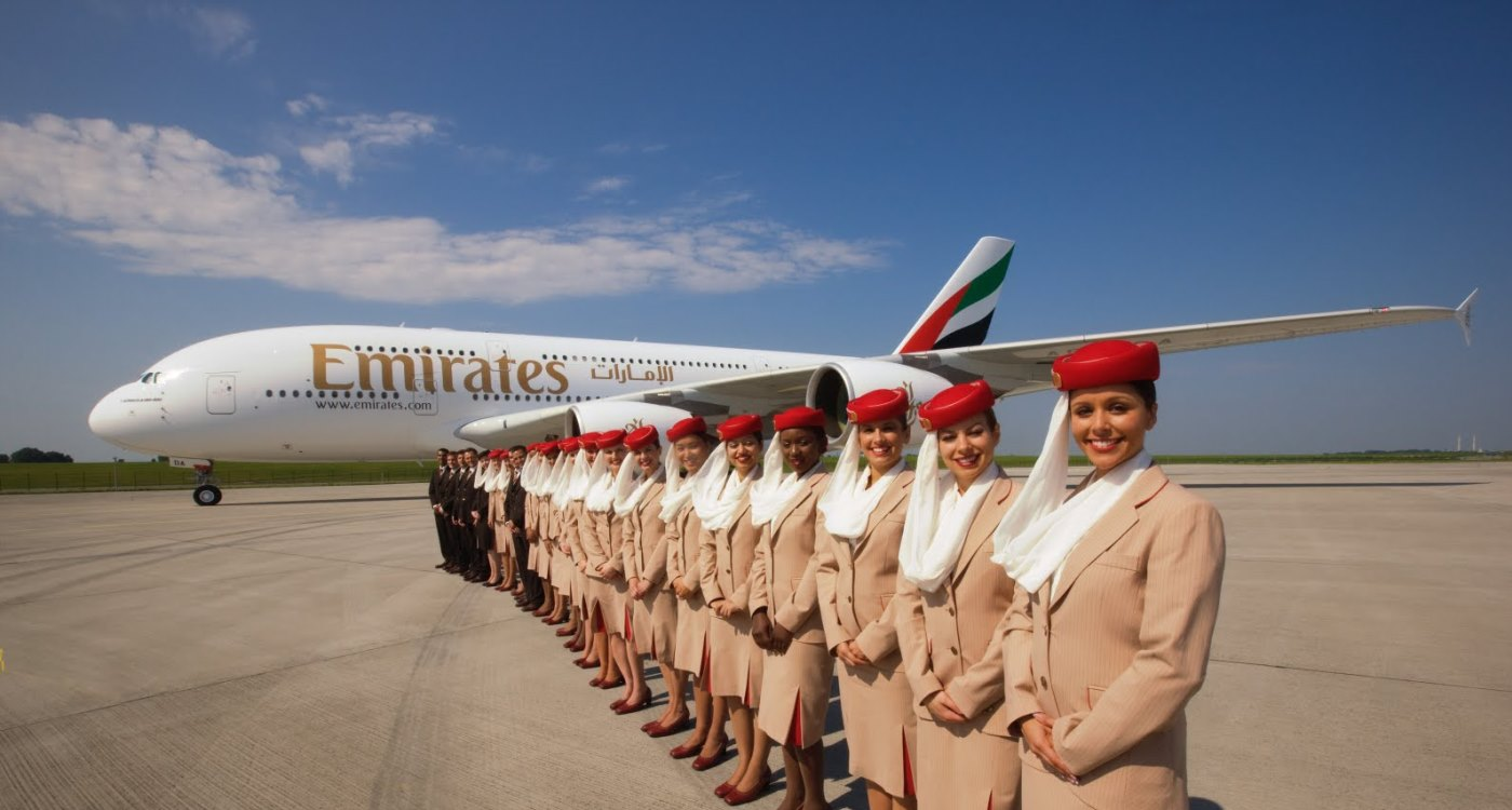 emirates stewardessen