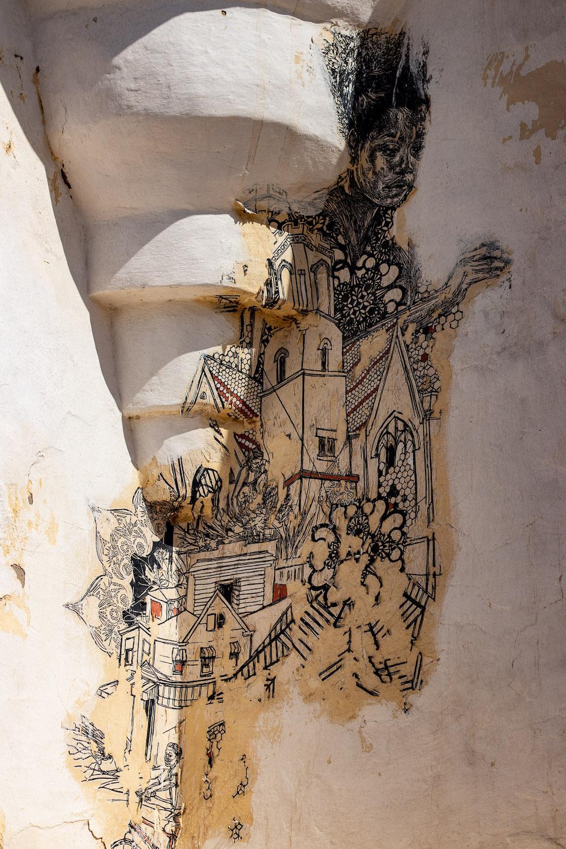 Erriadh Djerba Tunesie streetart