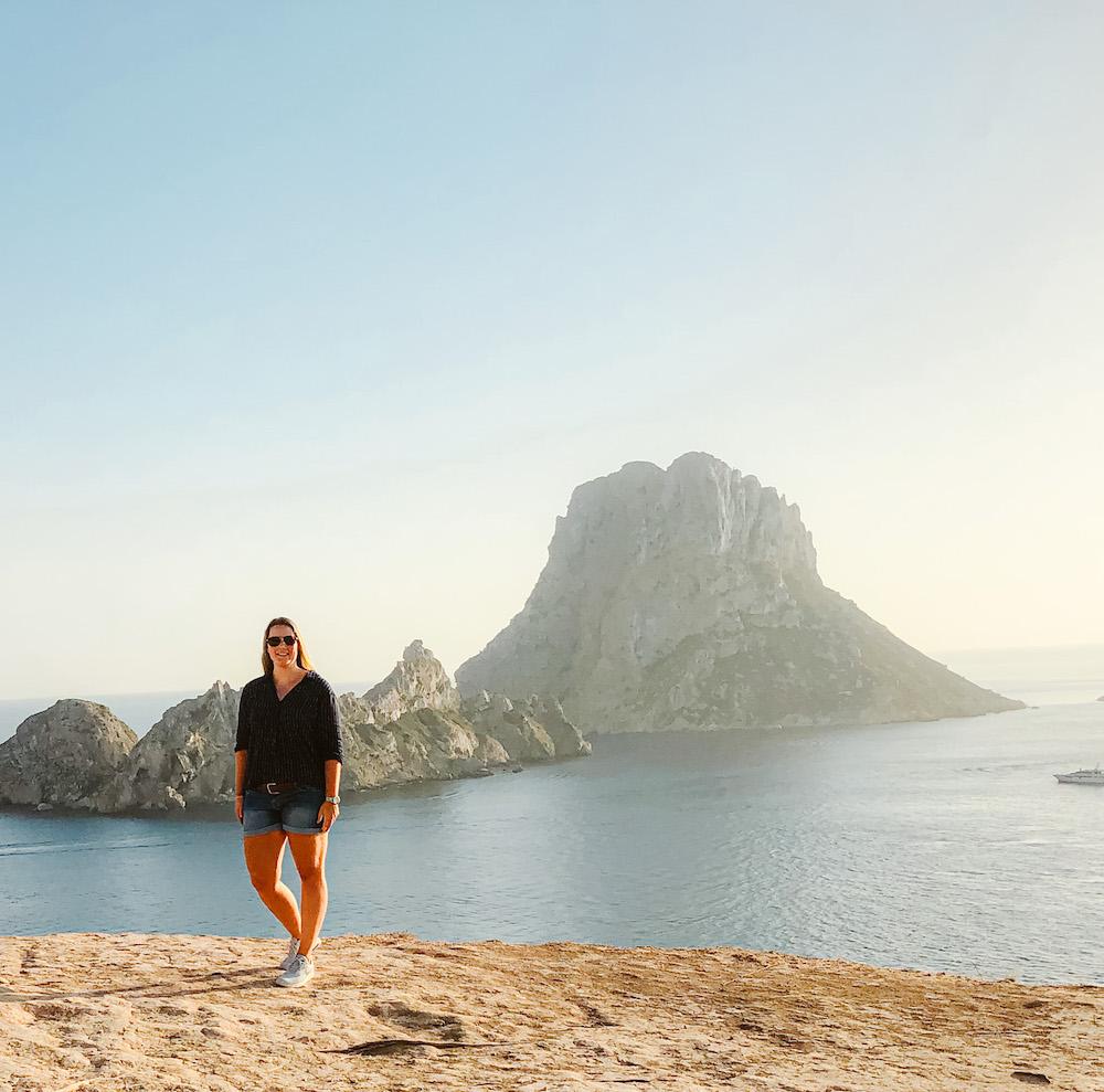 Es Vedra mooie plek Ibiza