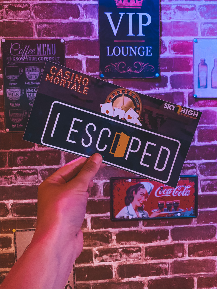 Escape Room Casino Mortale almere-2