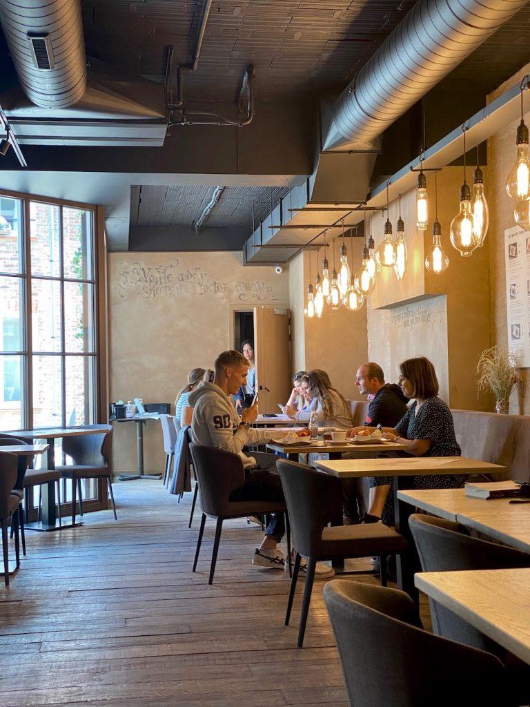 Eten Wafels Brugge waar