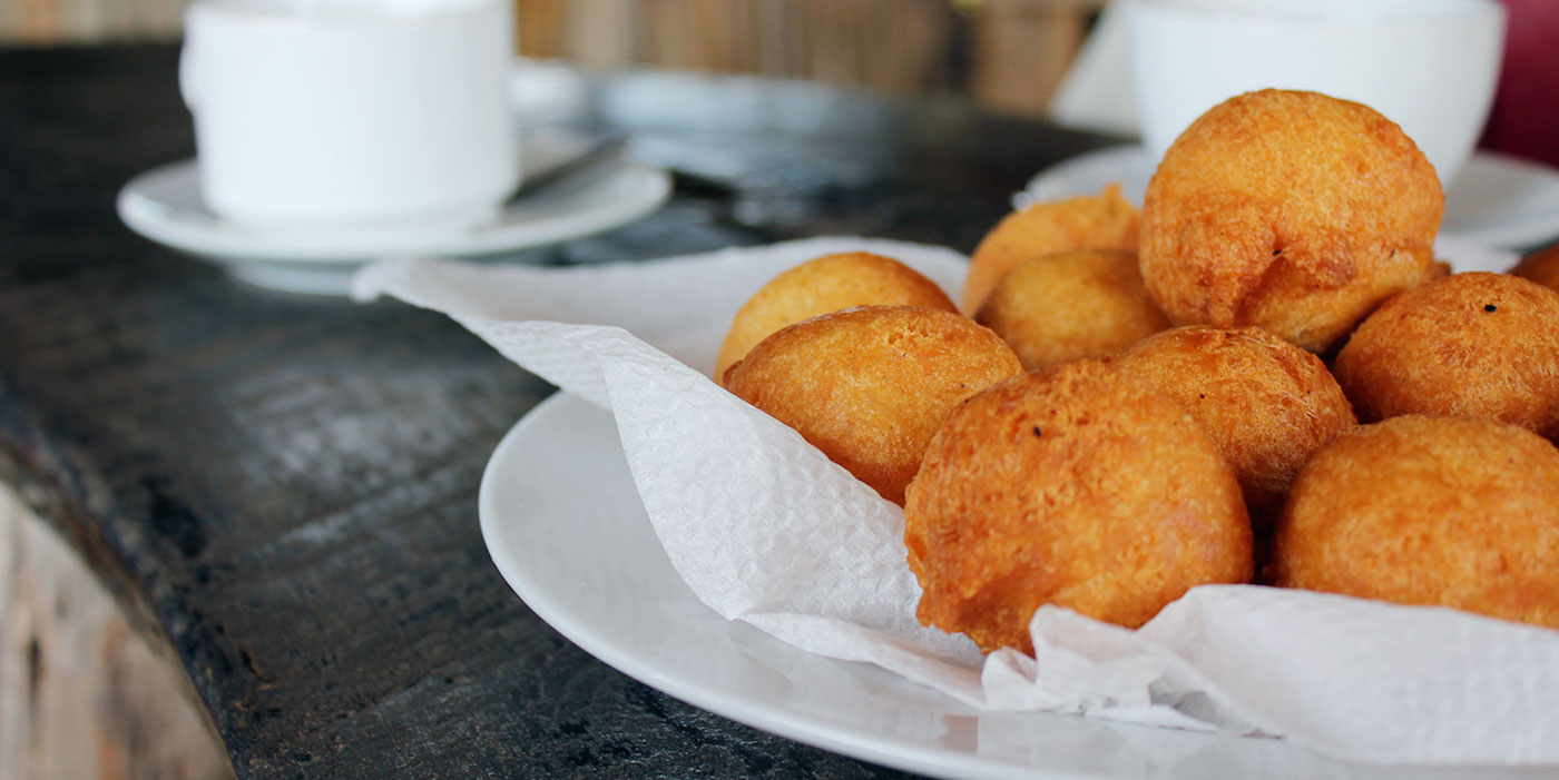 Eten gambia Gambian-Pancakes