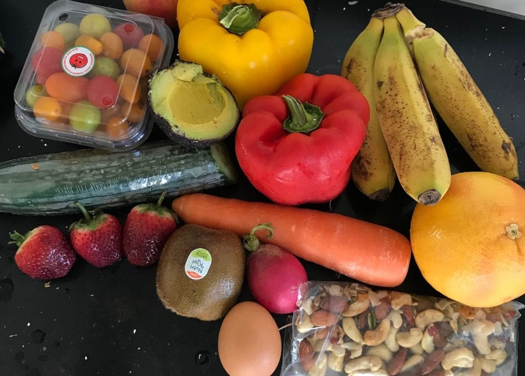Eten meenemen vliegtuig gezonde snacks