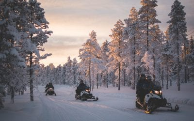 Excursies lapland sneeuwscootersafari