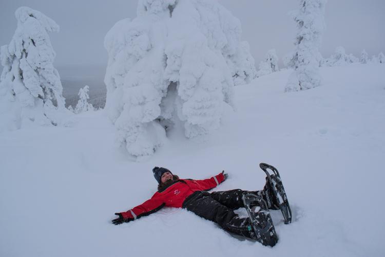 Excursies lapland snowshoeing