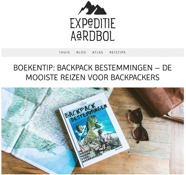 Expeditie Aardbol Backpack Bestemmingen