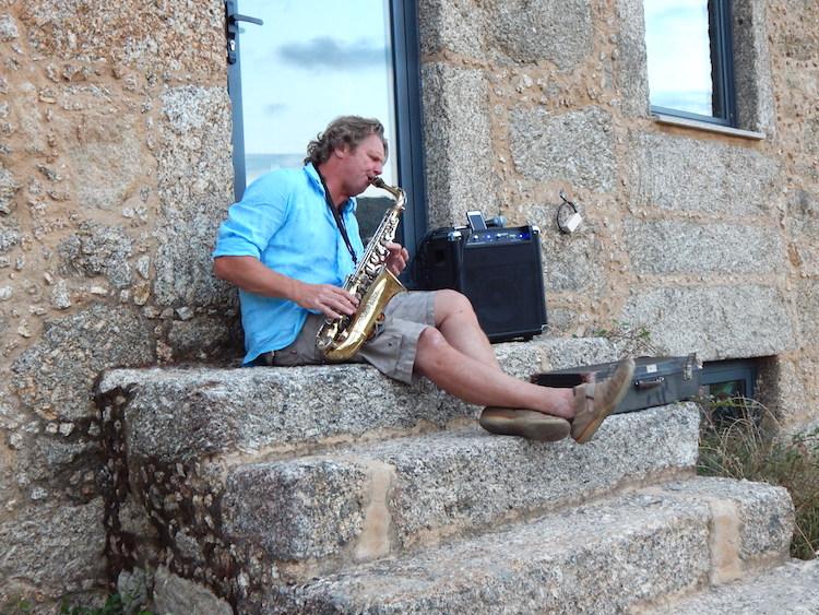 Festival Portugal Tom saxofoon