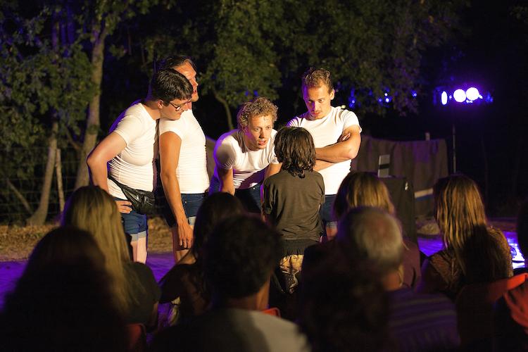 Festival Portugal de blonde jongens en tim
