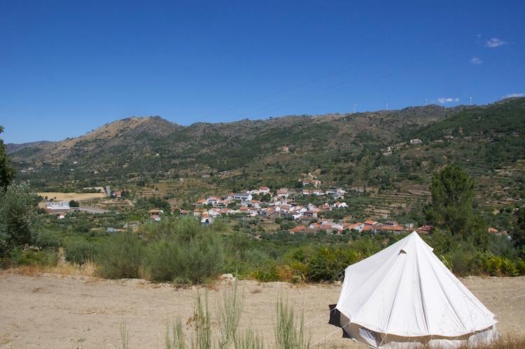 Festival Portugal tent kampeerplek