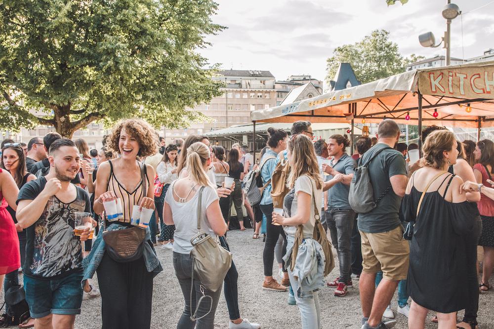 Festival in Lausanne