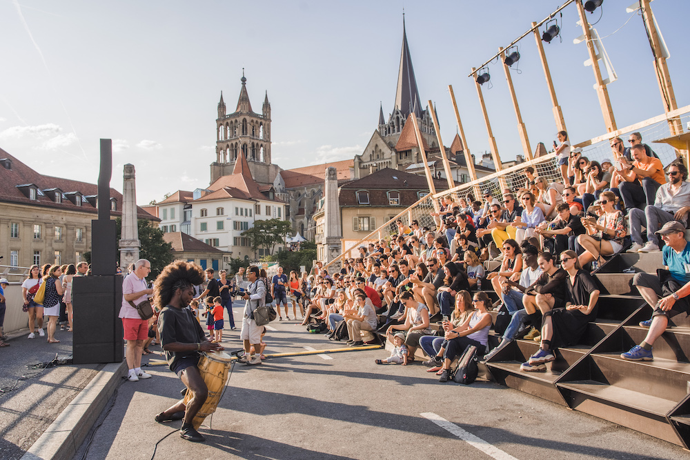 Festival zomer zwitserland in lausanne